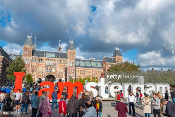 i am amsterdam sign photos et images de collection |