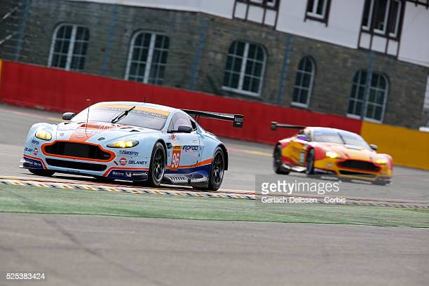 Am Aston Martin Racing Aston Martin Vantage V8 of Francesco Castellacci / Roald Goethe / Stuart Hall in action during Round 2 of the 2015 FIA World...