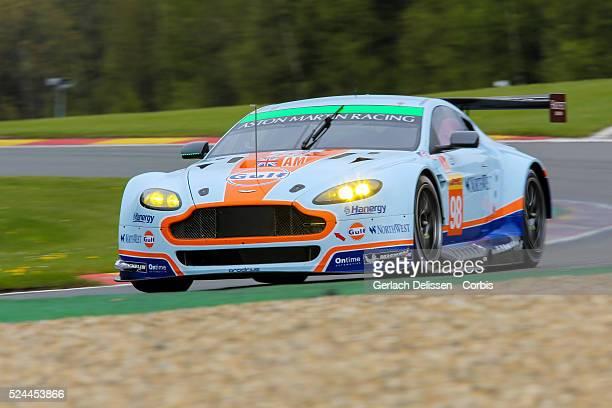 Am Aston Martin Racing Aston Martin Vantage V8 of Paul Dalla Lana / Pedro Lamy / Mathias Lauda in action during Round 2 of the 2015 FIA World...