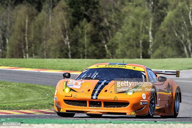 Am class 8 Star Motorsports Ferrari 458 Italia of Matteo Maluceli Enzo Potolicchio Rui Aguas in action during the race of the WEC 6 Hours of...