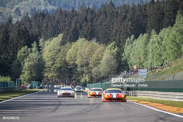 Am Class AF Corse Ferrari F458 Italia of Luis PerezCompanc / Marco Cioci / Mirko Venturi in action during the race of Round 2 of the 2014 FIA World...