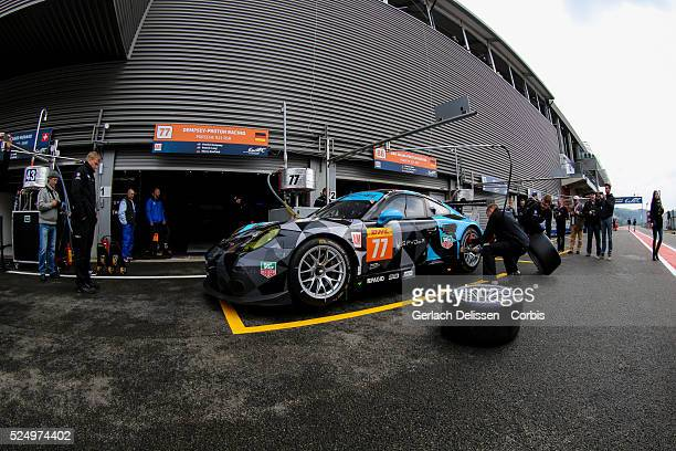 Am DempseyProton Racing Porsche 911 RSR of Patrick Dempsey / Patrick Long / Marco Seefried in action during Round 2 of the 2015 FIA World Endurance...