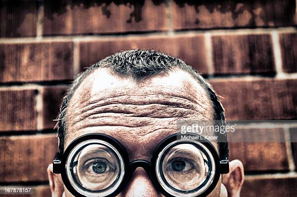i am not just another brick in the wall - receding hairline stock pictures, royalty-free photos & images