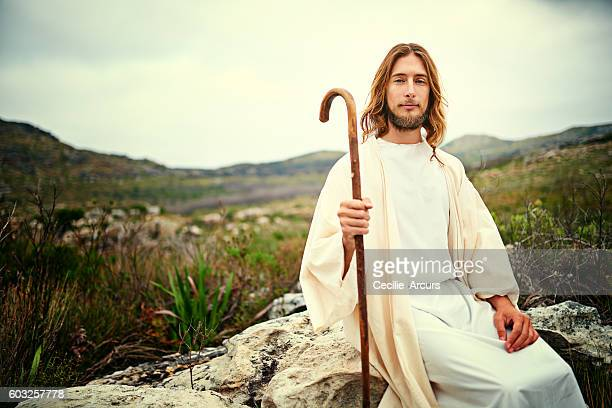i am the good shepherd - jesus the good shepherd stock pictures, royalty-free photos & images