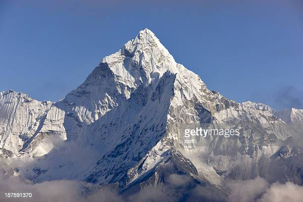 Ama Dablam. Everest Circuit. Nepal motives.