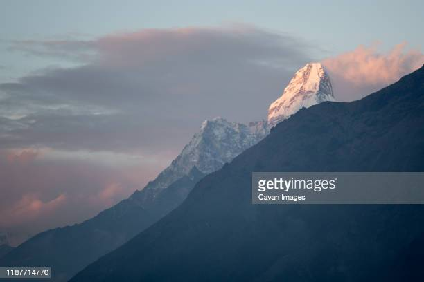 ama dablam is among the spectacular peaks in nepal's everest region. - khumbu stock pictures, royalty-free photos & images