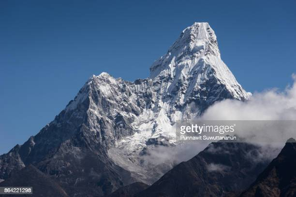 Ama Dablam mountain peak, Everest region, Nepal