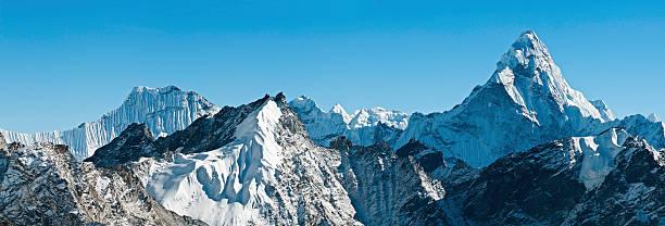 Ama Dablam Snow Summit Spire Himalayas Panorama Wall Art