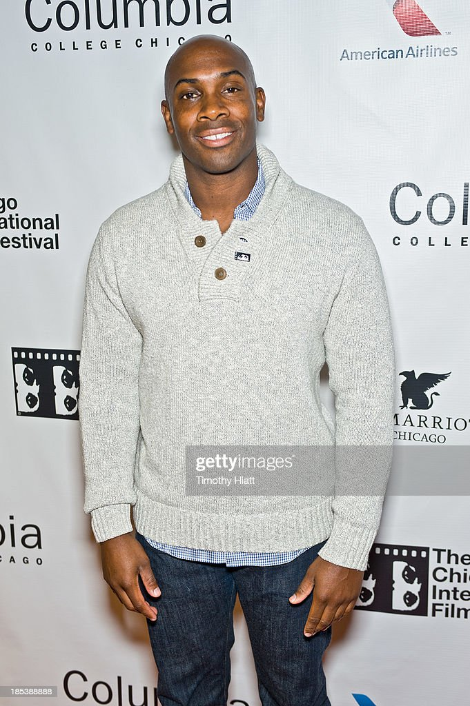 Amad Jackson attends the 'H4' premiere at AMC River East Theater on October 19, 2013 in Chicago, Illinois.