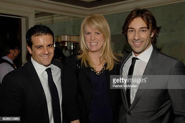 Amadeo Scognamiglio Kate Betts and Roberto Faraone Mennella attend FARAONE MENNELLA 5th Year Anniversary Party at Bergdorf Goodman on November 28...