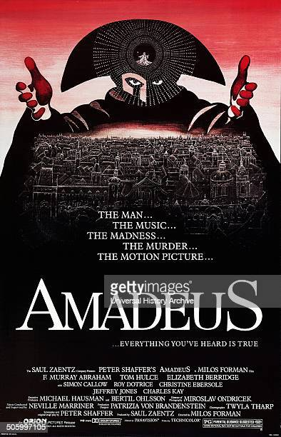 'Amadeus' a 1984 period drama film starring F Murray Abraham Tom Hulce and Elizabeth Berridge