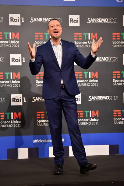 ITA: 71th Sanremo Music Festival 2021 - Day 5 - Press Conference