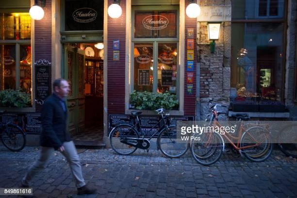 Amadeus restaurant in Ghent Belgium Amadeus Restaurant Ghent Flemish Region Belgium