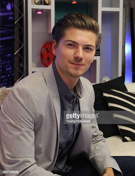 Amadeus Serafini at the Young Hollywood Studio on August 11 2015 in Los Angeles California