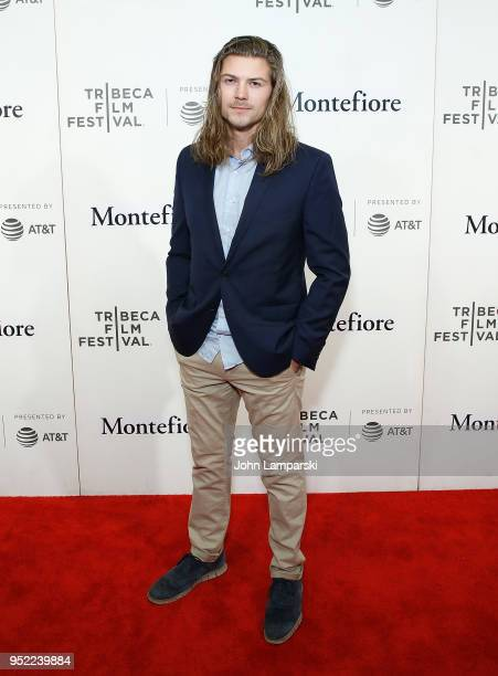Amadeus Serafini attends 2018 Tribeca Film Festival presentation of 'Summertime' at BMCC Tribeca PAC on April 27 2018 in New York City