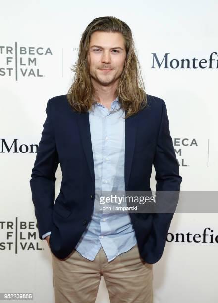 Amadeus Serafini attends 2018 Tribeca Film Festival presentation of 'Summertime' at BMCC Tribeca PAC on April 27 2018 in New York City