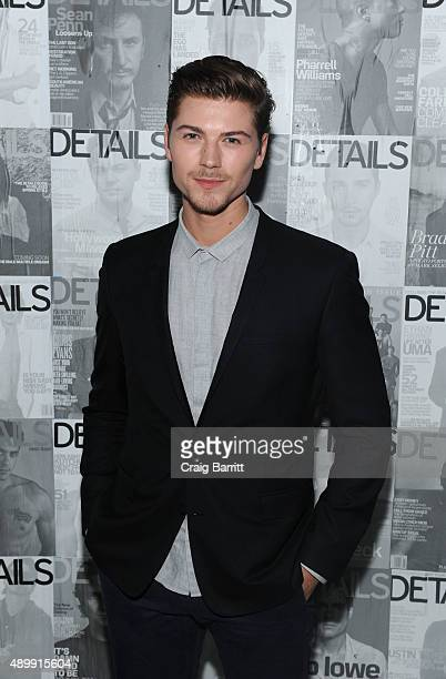 Amadeus Serafini attends the DETAILS magazine 15th anniversary celebration on September 24 2015 in New York City