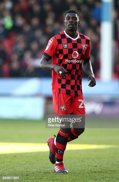 Amadou Bakayoko of Walsall in action during the Sky Bet League One match between Walsall and Northampton Town at Banks' Stadium on February 4 2017 in...