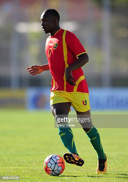 Amadou Diallo of Guinea during the Toulon Tournament match between Guinea and Paraguay at Stadium Leo Lagrange on May 19 2016 in Toulon France