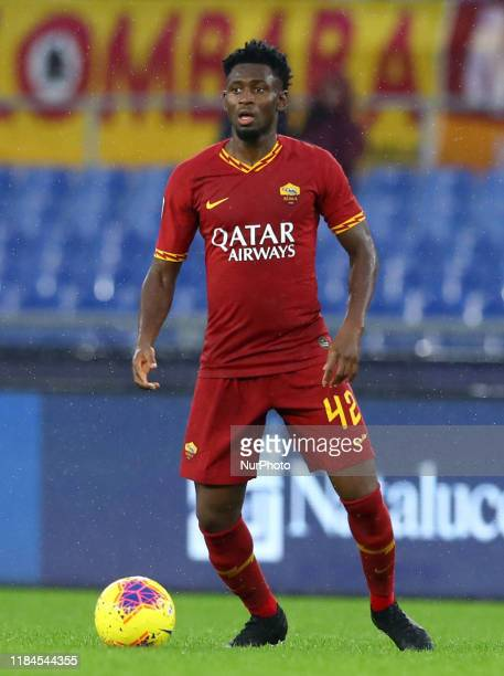 Amadou Diawara of Roma during the Serie A match AS Roma v Brescia Fc at the Olimpico Stadium in Rome, Italy on November 24, 2019