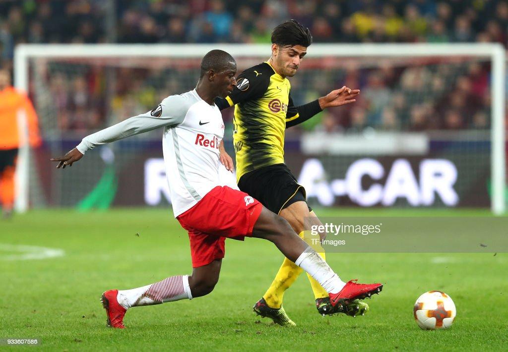 FC Red Bull Salzburg v Borussia Dortmund - UEFA Europa League Round of 16: Second Leg : News Photo