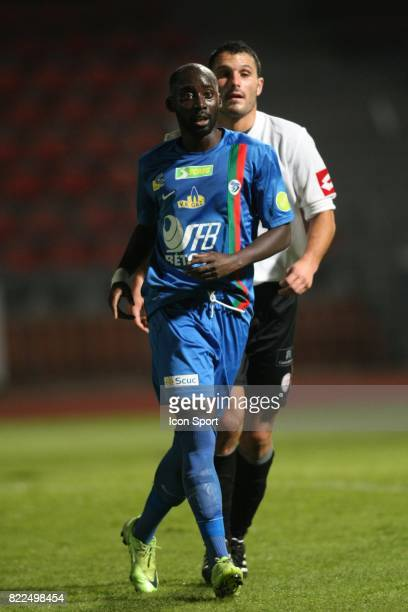 Amadou MBODJI Creteil / Frejus St Raphael 14eme journee de National