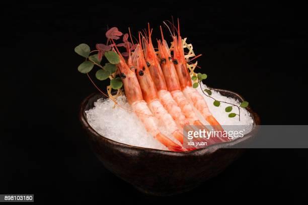 amaebi sashimi - えび ストックフォトと画像