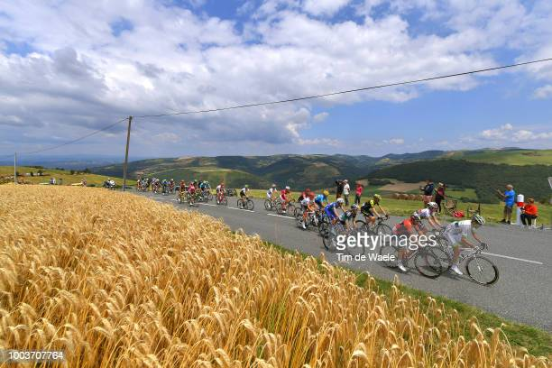 Amael Moinard of France and Team Fortuneo Samsic / Sonny Colbrelli of Italy and Bahrain Merida Pro Team / Daryl Impey of South Africa and Team...
