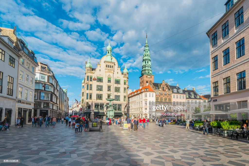 Amagertorv, Copenhagen. : Stock Photo