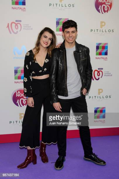 Amaia and Alfred attends 'La Noche De Cadena 100' charity concert at WiZink Center on March 24 2018 in Madrid Spain