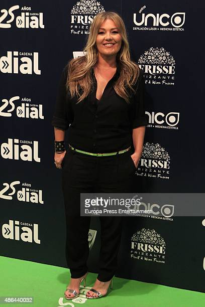 Amaia Montero attends 'Cadena Dial' 25th Anniversary Concert in Madrid Photocall on September 3 2015 in Madrid Spain
