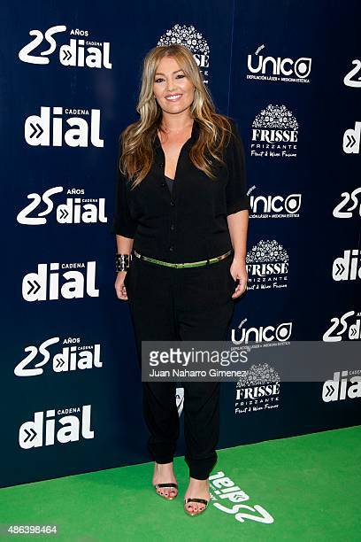 Amaia Montero attends 'Cadena Dial' 25th Anniversary photocall at Barclaycard on September 3 2015 in Madrid Spain