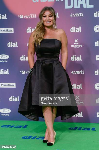 Amaia Montero attends 'Cadena Dial' Awards 2018 Red Carpet on March 15 2018 in Tenerife Spain