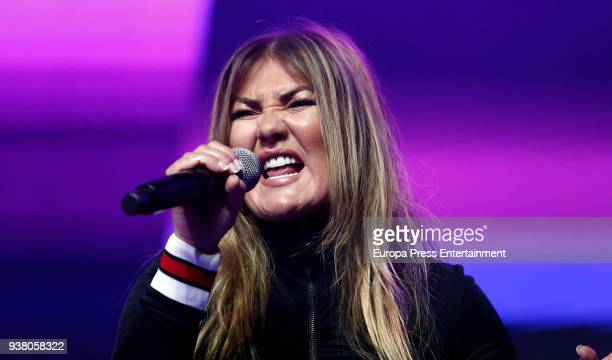 Amaia Montero attends 'La Noche De Cadena 100' charity concert at WiZink Center on March 24 2018 in Madrid Spain