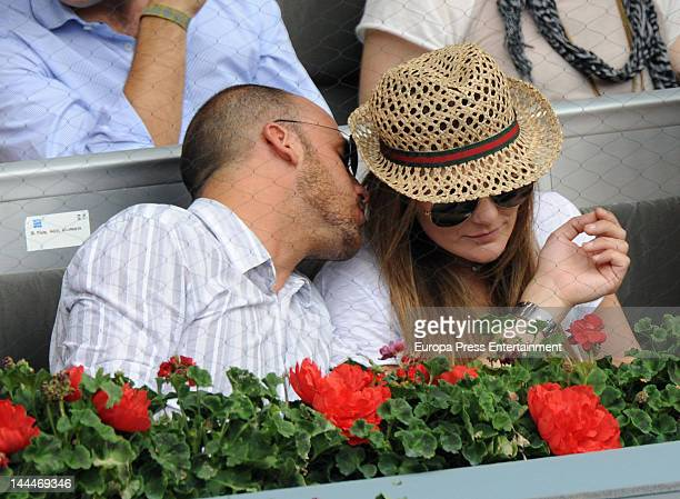 Amaia Montero attends Mutua Madrilena Madrid Open on May 13 2012 in Madrid Spain