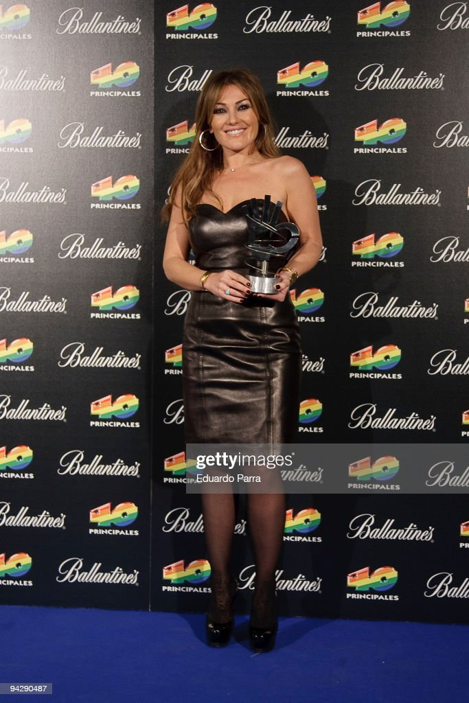 '40 Principales' Awards 2009 - Winners and Performers