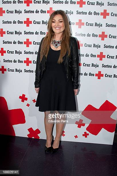 Amaia Montero attends the Red Cross charity concert photocall at Joy Slava disco on May 20 2010 in Madrid Spain