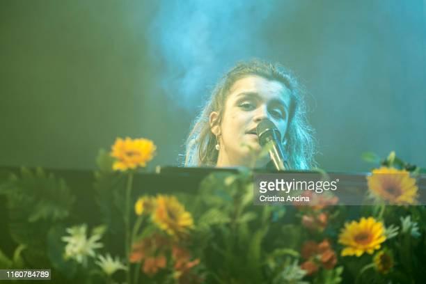 Amaia performs in the PortAmérica´s festival on July 5 2019 in Caldas de Reis Spain