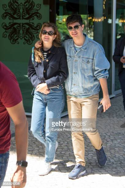 Amaia Romero and Alfred Garcia of Spain are seen one day before taking part at 2018 Eurovision Song Contest on May 11 2018 in Lisbon Portugal
