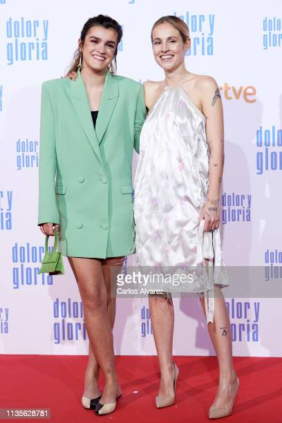 Amaia Romero attends 'Dolor y Gloria' premiere at the Capitol cinema on March 13 2019 in Madrid Spain