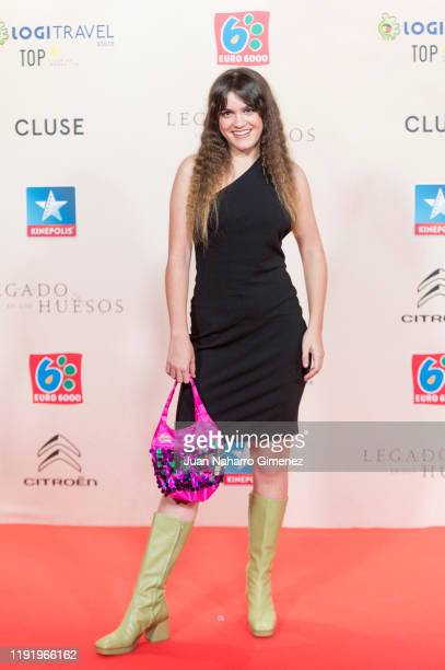 Amaia Romero attends 'Legado En Los Huesos' premiere at Kinepolis Cinema on December 04 2019 in Madrid Spain