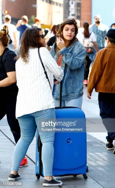 Amaia Romero is seen on September 06 2019 in Madrid Spain