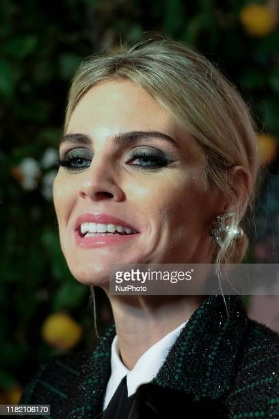 Amaia Salamanca attend the photocall of the presentation of GUADALQUIVIR the new gin from Puerto de Indias on November 12 2019 in Madrid Spain