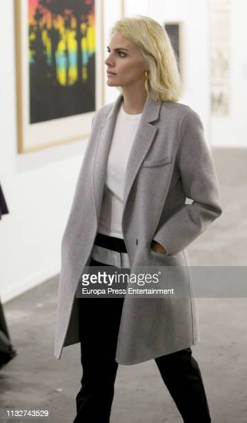 Amaia Salamanca attends ARCO Art Fair Madrid 2019 at Ifema on February 27 2019 in Madrid Spain