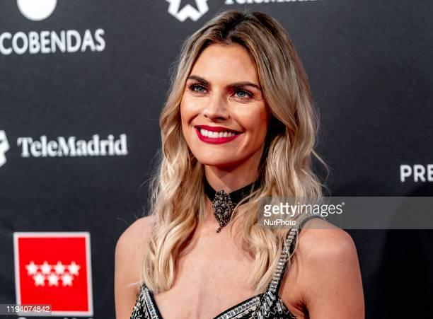 Amaia Salamanca attends Feroz awards 2020 red carpet at Teatro Auditorio Ciudad de Alcobendas on January 16 2020 in Madrid Spain