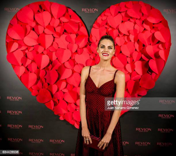 Amaia Salamanca attends 'Love Is On' photocall at Hotel NH Collection Eurobuilding on February 9 2017 in Madrid Spain