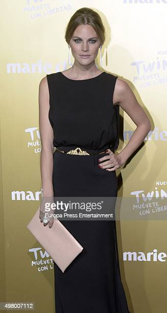 Amaia Salamanca attends Marie Claire Prix de la Moda Awards 2015 at Callao cinema on November 19 2015 in Madrid Spain
