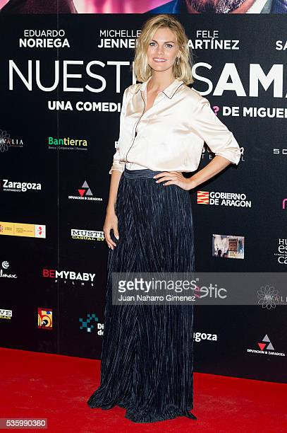 Amaia Salamanca attends 'Nuestros Amantes' photocall at Palafox Cinema on May 31 2016 in Madrid Spain