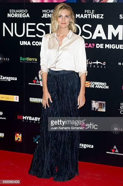 Amaia Salamanca attends 'Nuestros Amantes' photocall at Palafox Cinema on May 31 2016 in Madrid Spain