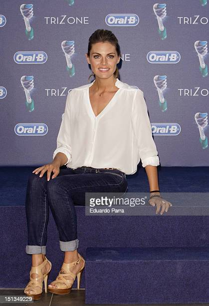 Amaia Salamanca attends OralB Trizone photocall at Petit Palace hotel on September 6 2012 in Madrid Spain